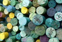 wine bottles, corks & caps / wine bottles, corks & caps