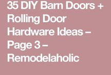 Barn/Other Doors