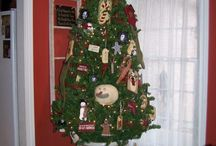 christmas primitive decor