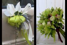 קישוטי פרחים לרכב חתן כלה wedding car decoration flowers / קישוטי פרחים לרכב חתן כלה wedding car decoration flowers