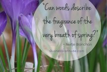 Spring Quotes / Quotes about Spring