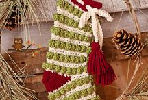 Christmas Stockings / Christmas stockings in many styles to make or embellish.