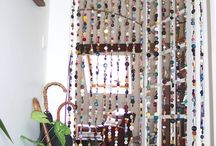 DIY & Crafts: Curtains/Garlands/Banners/mobile / assorted ideas/inspiration to make curtains/garland/banners using assorted materials
