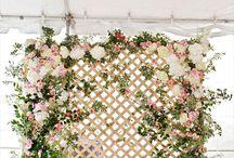 Flower Backdrop