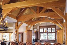 Timber frame: Kitchens