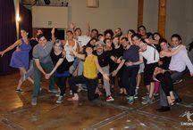 Lindy hop class / Clases de lindy hop de todo el mundo