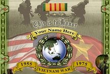 Vietnam Veteran Certificate Poster / Check out this cool Vietnam Vet Certificate that allows you to customize it with your name, your branch, etc. https://vision-strike-ware.3dcartstores.com/Vietnam-War-Memorial-Customizable-Poster.html / by Sarge Strike