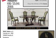 Salone del Mobile di Milano 2014 / Hall 2, stand P31 - R32