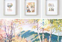 Fall- Free printables