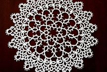 Tatting doily
