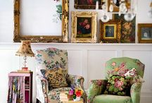 Vintage Living Room / Beautiful vintage living room inspiration