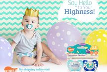 Expression Pacifiers / Your baby may be little, but they've got a big personality that is all there own–help them express it with our Expression Pacifiers! With our wide variety of unique, funny, and adorable expressions, you are sure to find just the pacifier to suit your little one!