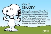 Snoopy / Peanuts Cartoon Character  / by Kim Harris