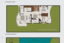 Projeção de casas