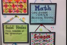 Classroom - displays and room layouts