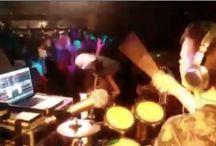 Drumming DJ