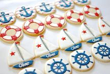 Nautical boat marine cookies