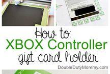 Xbox controller card