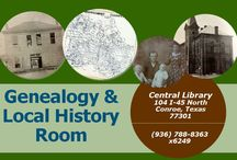 Genealogy & Local History Room / Genealogy & Local History Room in Central Branch, Conroe, TX.  / by Montgomery County Memorial Library System