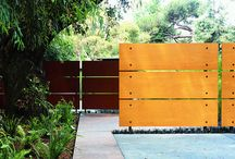 Wall Ideas in gardens / Full walls, half walls can be a great design feature in a garden