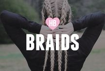 Braids / Amazing braids that we love! Give them a go...