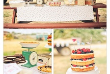 Let's Party - Farmers Market Birthday / A Farmers Market / Garden inspired first birthday party. / by Kelly Maron Horvath