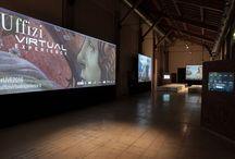 Area interattiva / L'area interattiva della digital exhibition Uffizi Virtual Experience. Da Giotto a Caravaggio