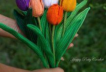 Modelli di fiori all'uncinetto
