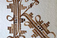 calligraphie enluminure