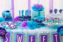 Purple and Turquoise Party