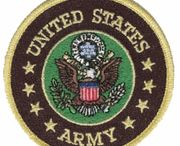 Military Patches / Great selection of Military Patches for Army, Navy, USAF, USCG, USMC, Vets, Retired and More for Designing at http://www.priorservice.com/milpat.html / by PriorService.com