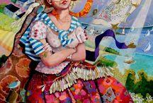 """FABY ARTIST / Me encanta la pintura como amo la vida, FABY. Artista Bretón. Faby  pinta desde la edad de 15 años. """"Me encanta la pintura como amo la vida, con sus luchas, alegrías, tristezas y grandes alegrías! Mi trabajo es el espejo de mi alma! ... Durante años que trabajo todos los días para transcribir mejor la esencia de las emociones capturadas. Mis pinturas son cada uno un verdadero fragmento pictórica de esta confusión interna."""