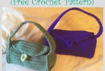 DIY Crochet Purses and Bags - Free Patterns / Crochet bags, totes, purses, handbags, and more!
