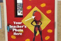 Disney Teacher Appreciation Board