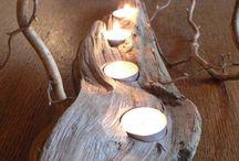 ručné práce-drevo- chalupa