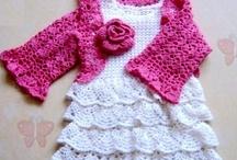 crochet girls clothes