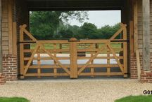 Bespoke Gates and Garage Doors / Made to measure high quality solid wood garage doors and gates, delivered all UK and fitting service is also available in many areas.