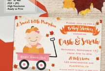 Pumpkin Baby Shower Ideas