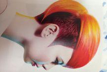 Hair colour/cut