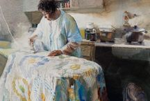 Mary Whyte a genius in watercolor