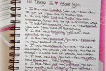 journal / by Marriah Burke