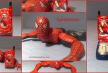 SPIDER-MAN Spider-Man Spiderman Collectibles / Collectibles Toys & Figures DVD's Posters Movies