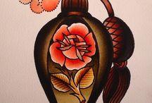 Tattoo / Old School Tattoo Art Design