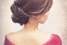 色留袖 ヘアスタイル