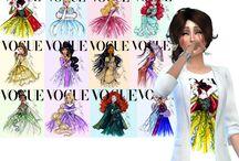 Haut Femme - Sims 4