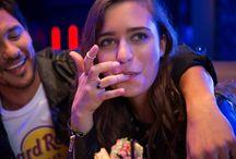 Hard Rock: Lifestyle photos / A way of life. We love rock We love music. We love rock n' roll. We love food.