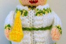 Knitted Dolls Patterns Makerist Store