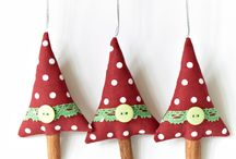 Christmas Crafting Ornaments / Christmas ornaments I'd like to make.