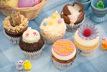 Easter 2016 / Easter is a time to feast! We've whipped up six cracking cupcakes for you to bring to the table and get your taste buds tweeting this spring. Welcome back our coveted Creme Egg and say hello to five new seasonal concoctions including luscious lemon, coconut custard and berry cheesecake. Available until Sunday 27th March 2016, our limited edition Easter range is, as always, crafted with care and plenty of cheer, perfect to enjoy with some sunshine over the holidays!