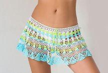 Polleras y pantalones crochet